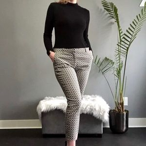 H&M Patterned Dress Pants